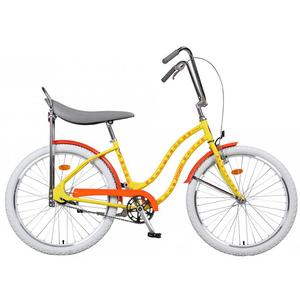 Bicicleta de oras PEGAS Strada2 Iconic Otel 2S, Galben
