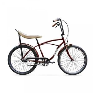 Bicicleta de oras PEGAS Strada1 Otel 3S, Visiniu