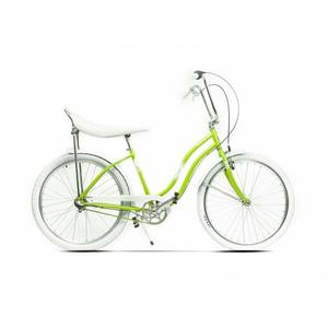 Bicicleta de oras PEGAS Strada2 Otel 3S, Verde Neon