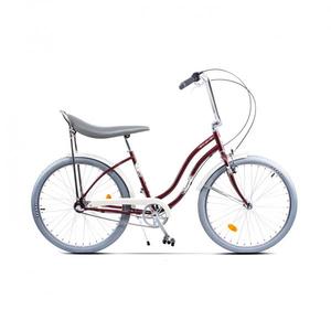 Bicicleta de oras PEGAS Strada2 Otel 3S, Visiniu