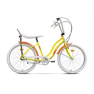 Bicicleta de oras PEGAS Strada2 Otel 3S, Galben Floare
