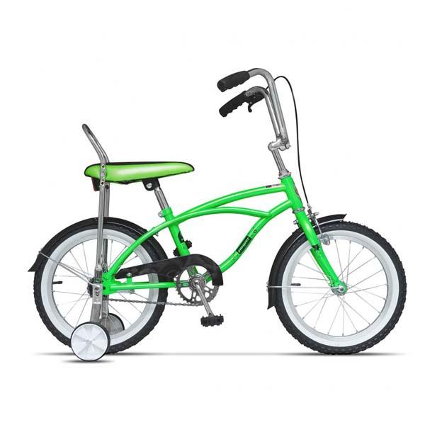 Bicicleta pentru copii PEGAS Mezin 2017, Baiat, Verde Neon