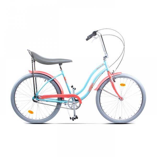 Bicicleta de oras PEGAS Strada2 Alu 3S, Turcoaz Moft
