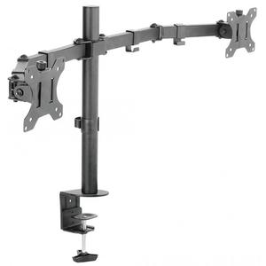 Suport monitor SBOX LCD-352/2, pentru birou, negru