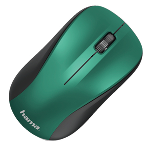 Mouse Wireless HAMA MW-300, 1200 dpi, albastru-verde