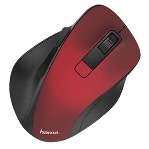 Mouse Wireless HAMA MW-500 182634, 1600dpi, rosu