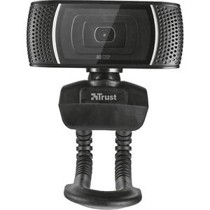 Camera Web TRUST Trino 18679, 720p, negru