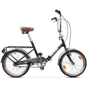 Bicicleta Pliabila PEGAS Practic Retro Otel 3S, Negru