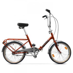 Bicicleta Pliabila PEGAS Practic Retro Otel 3S, Cupru