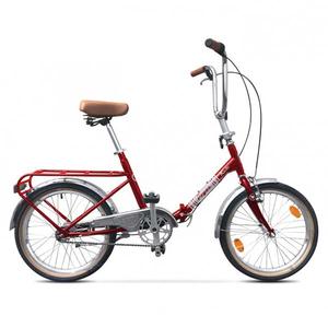 Bicicleta Pliabila PEGAS Practic Retro Otel 3S, Rosu