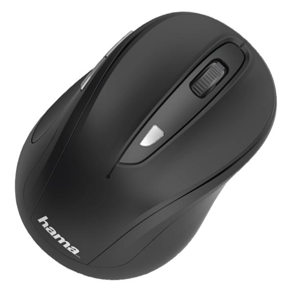 Mouse Wireless HAMA MW-400, 1600 dpi, negru