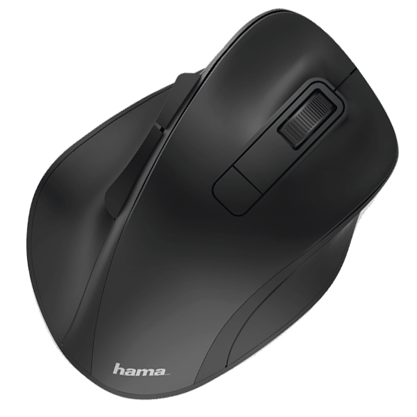 Mouse Wireless HAMA MW-500, 1600 dpi, negru