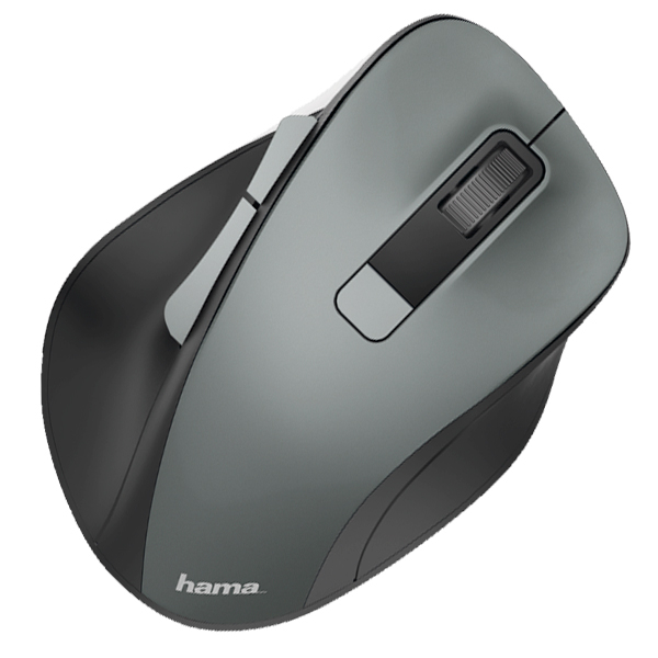 Mouse Wireless HAMA MW-500, 1600 dpi, antracit