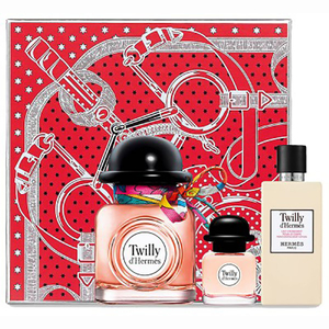 Set cadou HERMES Twilly: Apa de parfum, 85ml + Apa de parfum, 7.5ml + Lotiune de corp, 80ml