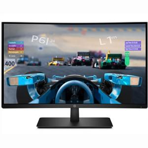 "Monitor LED VA HP 1AT01AA, 27"" Curved, Full HD, negru"