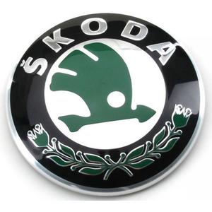 Emblema grila radiator SKODA Octavia l, ll, Fabia ll, lll,  Rapid
