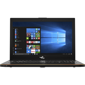 "Laptop ASUS ROG ZEPHYRUS GM501GS-EI003R, Intel Core i7-8750H pana la 4.1GHz, 15.6"" Full HD, 16GB, SSHD 1TB + SSD 256GB, NVIDIA GeForce GTX 1070 8GB, Windows 10 Pro, Negru"