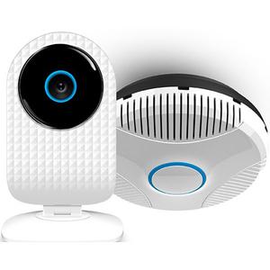 Kit ALLVIEW Siebo Gas Safe, SmartCam + Senzor gaz S2002, alb