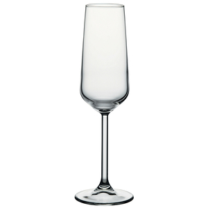Set pahare sampanie PASABAHCE Allegra 1022702, 6 piese, 0.19l, sticla