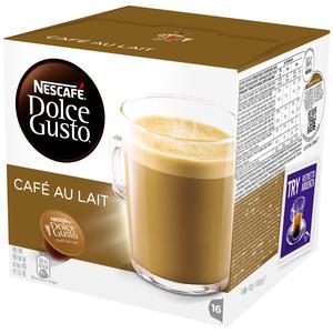 Capsule cafea NESCAFE Dolce Gusto Cafe Au Lait, 16 capsule, 160g