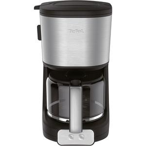 Cafetiera TEFAL Element CM470810, 1000W, 1.25l, negru-inox