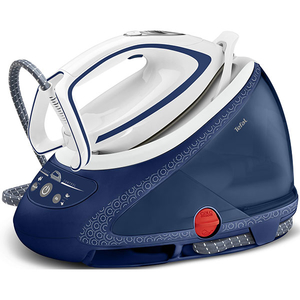 Statie de calcat TEFAL Pro Express Ultimate Care GV9580E0, 1.9l, 580g/min, 2600W, talpa Durilium Airglide Autoclean, alb - albastru