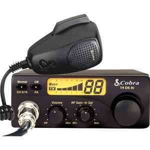 Statie emisie - receptie COBRA 19DX, 40 canale, FM, UHF, 25 Km, 12V, negru