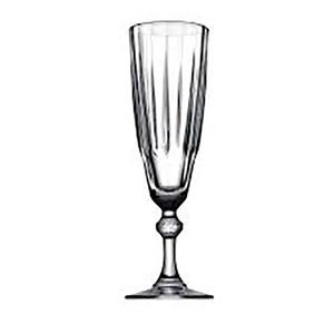 Set pahare sampanie PASABAHCE Diamond 1020005, 6 piese, 0.17l, sticla