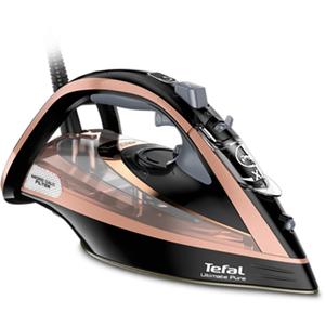 Fier de calcat TEFAL Ultimate Pure FV9845E0, 350ml, 260g/min, 3200W, talpa Durilium AirGlide, maro