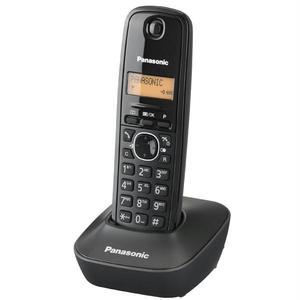 Telefon fix PANASONIC KX-TG1611FXH, DECT, negru