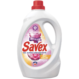 Detergent lichid SAVEX 2 in 1 color, 2.2l, 40 spalari