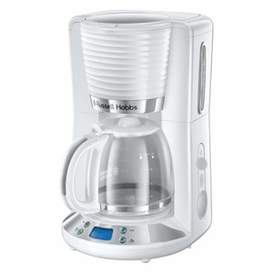 Cafetiera RUSSELL HOBBS Inspire 24390-56, 1.25l, 1100W, alb