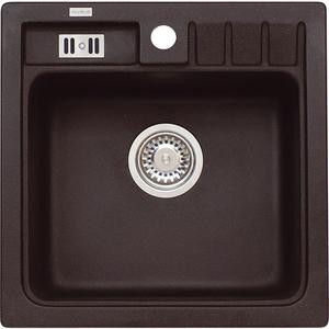 Chiuveta bucatarie ALVEUS Niagara 20 G91, 1 cuva, compozit granit, negru