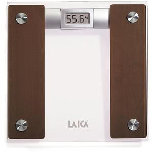 Cantar digital de persoane LAICA PS1032, 160 kg, sticla, maro