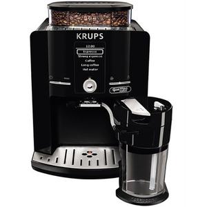 Espressor KRUPS Latt'espress EA82FE10, 1.7l, 15 bar, negru