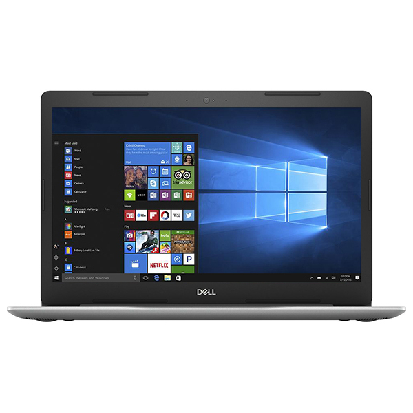 "Laptop DELL Inspiron 5570, Intel Core i5-8250U pana la 3.4GHz, 15.6"" Full HD, 8GB, 1TB, AMD Radeon 530 4GB, Windows 10 Home, Argintiu"