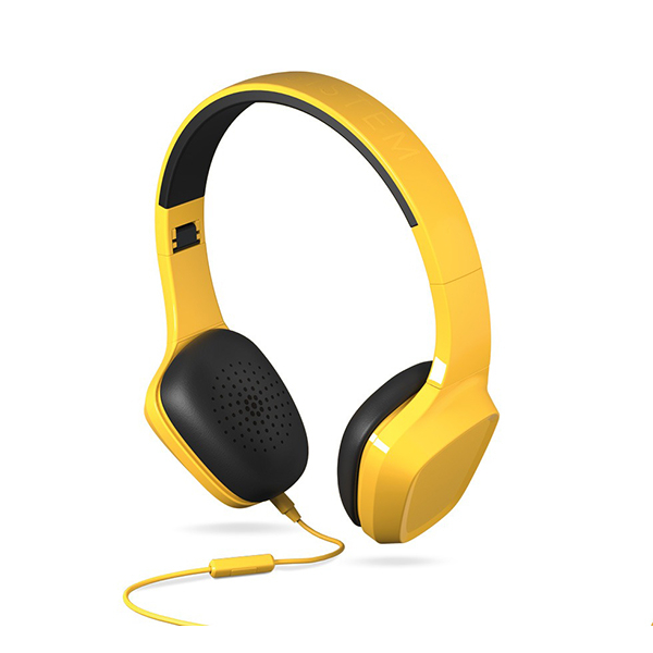Casti ENERGY SISTEM Headphones 1 ENS428397, Cu Fir, On-Ear, Microfon, galben
