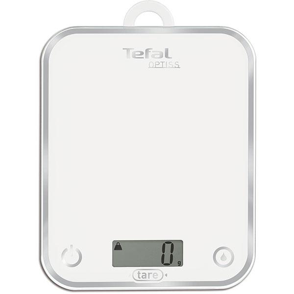 Cantar de bucatarie TEFAL Optiss BC5000V1, 5kg, alb