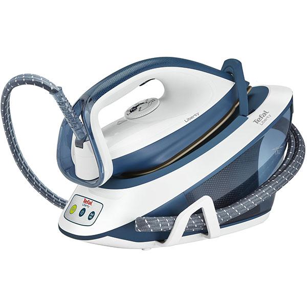 Statie de calcat TEFAL Liberty SV7030, 1.5l, 310g/min, 2200W, alb - albastru