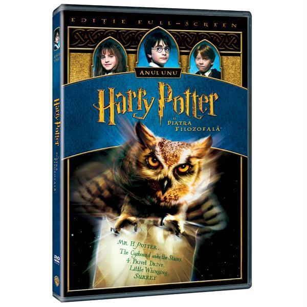 Harry Potter si Piatra Filozofala DVD