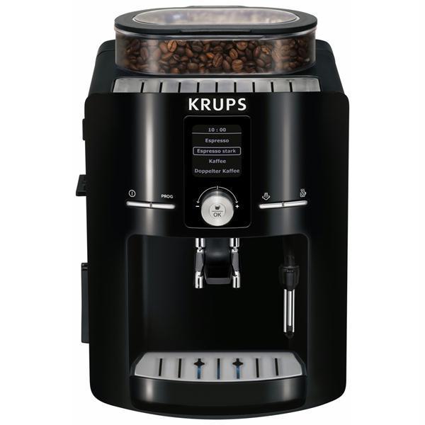 Espressor KRUPS Piano EA8250, 1.8l, 1450W, 15 bar, negru