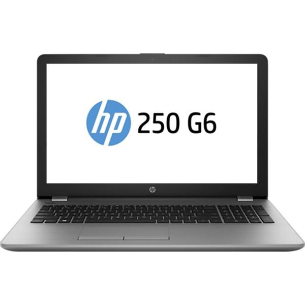 "Laptop HP 250 G6, Intel Core i3-6006U 2.0GHz, 15.6"" HD, 8GB, SSD 128GB, Intel HD Graphics 520, Free Dos, Argintiu"