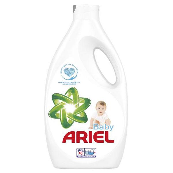 Detergent lichid ARIEL Baby, 40 spalari, 2.2l