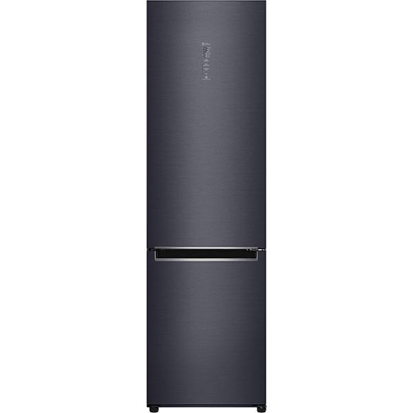 Combina frigorifica LG GBB92MCAXP, No Frost, 384 l, H 203 cm, Clasa A+++, Smart Diagnosis, Wi-Fi, negru