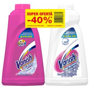 Vanish Pink 1L + White 1L