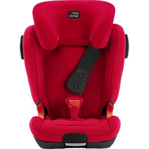 Scaun auto BRITAX ROMER Kidfix II Xp Sict,  black series, Isofix, 15 - 36kg, fire red