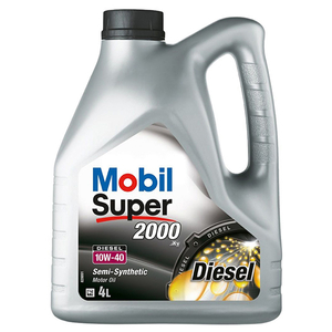 Ulei motor MOBIL, Super 2000 X1, Diesel, 10W40, 4l