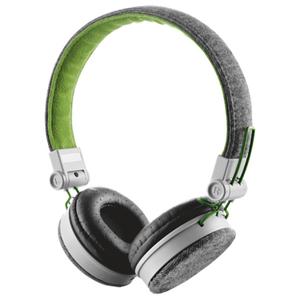 Casti audio cu microfon TRUST Fyber, 3.5mm, gri-verde