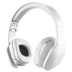 Casti audio cu microfon TRUST Mobi, 3.5mm, alb