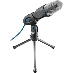 Microfon TRUST Mico 20378, Jack 3.5-mm, USB, 1.8m, negru